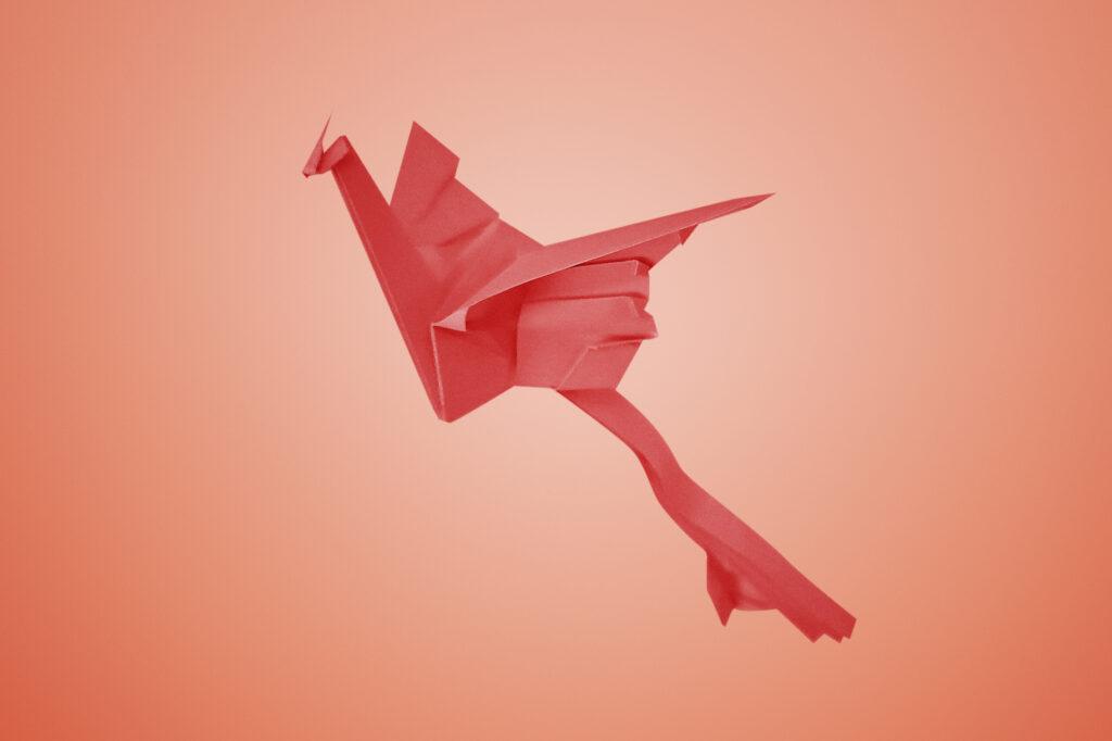 Origami Phoenix Design