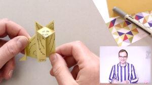 Papershake Online Origami Workshop Fox