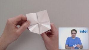 Papershake Origami Intel Workshop