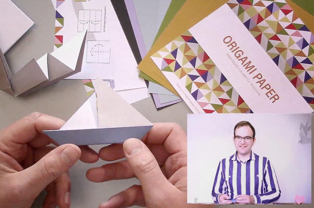 Online Origami Workshops